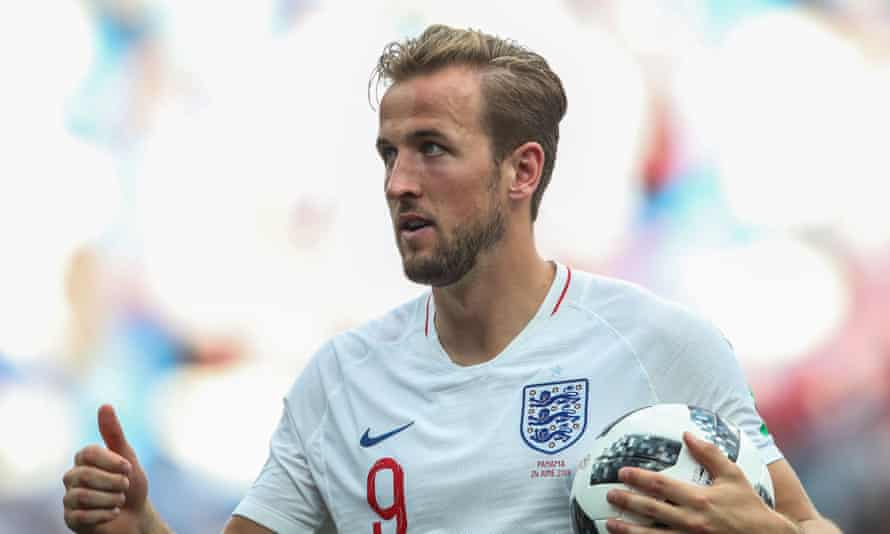 Harry Kane leads the race for the golden boot with five goals