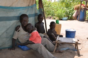 A family finds refuge in the remote bush town of Berakole