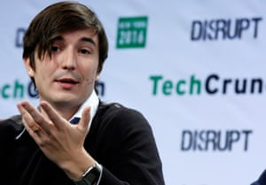 Vlad Tenev, co-founder and co-CEO of investing app Robinhood, speaks during the TechCrunch Disrupt event in Brooklyn borough of New York, U.S., May 10, 2016.