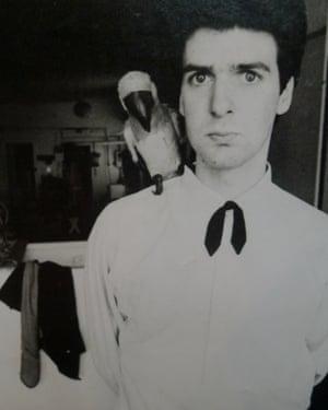 Jon Savage in 1978.