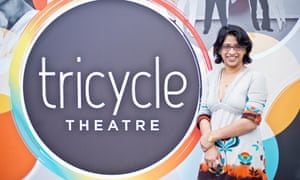The Tricyle Theatre name.
