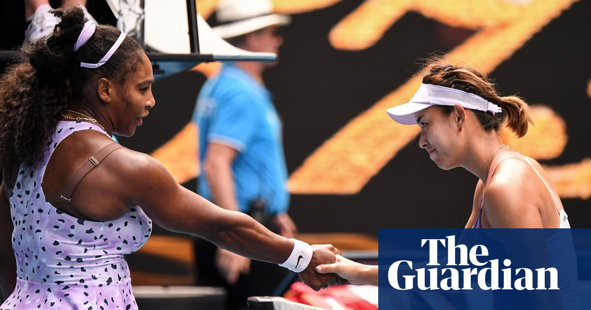 Wang Qiang plays match of her life to beat Serena Williams