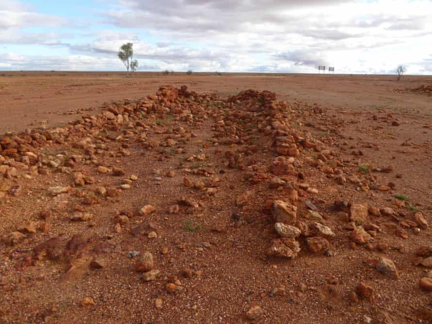 Boulia stone structure, Native police camp Queensland