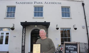 Grant Cook, landlord and owner of the Sandford Park Alehouse in Cheltenham.