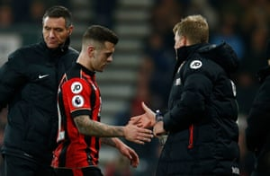 Jack Wilshere is the latest to be taken off injured in the first half.