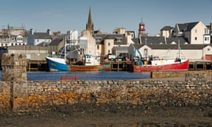 Stornoway on the Outer Hebrides