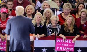 Donald Trump women Raleigh