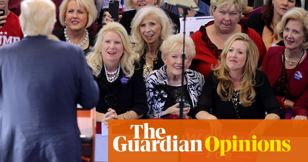 Half of white women continue to vote Republican. What's wrong with them? | Moira Donegan