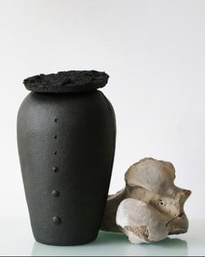 Just Bones vessel by product designer Valdís Steinarsdóttir from the Iceland collection