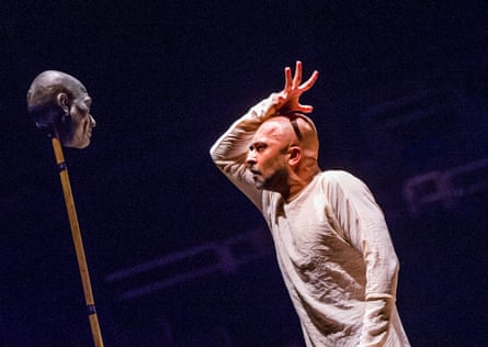 Akram Khan in his Until the Lions at the Roundhouse.