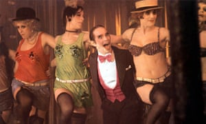 Joel Grey in Cabaret.