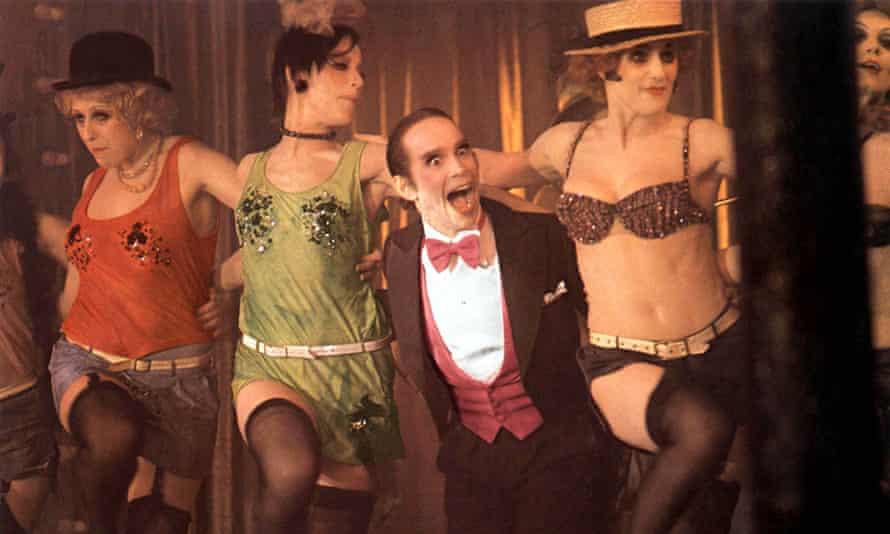 Joel Grey in Cabaret.