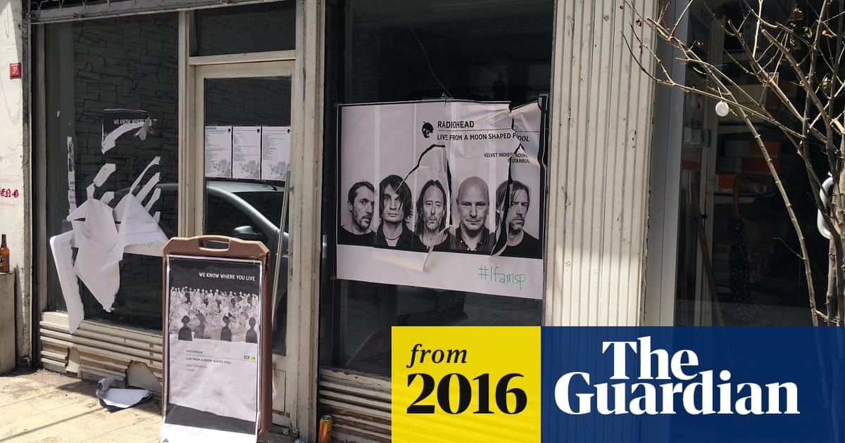 267f90145 Turkish Radiohead fans attacked at listening party in Istanbul | World news  | The Guardian