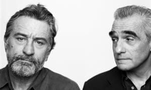 Robert DeNiro and Martin Scorcese in New York, 2002