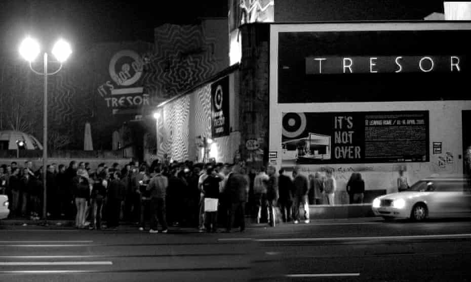 'The old clubs gave up – they couldn't or didn't want to change': crowds outside Tresor in 2005.