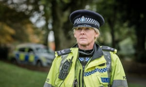 Flinty, witty and smart … Sarah Lancashire's performance is brilliant.