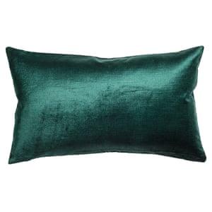 velvet cushion cover from h m