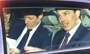 Alastair Campbell and Tony Blair in 2001.