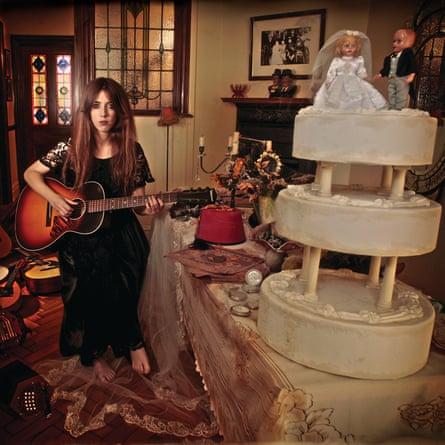 Gwenifer Raymond: Strange Lights Over Garth Mountain album cover.