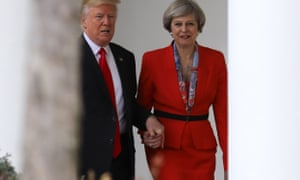 Not so special? Donald Trump and Theresa May.