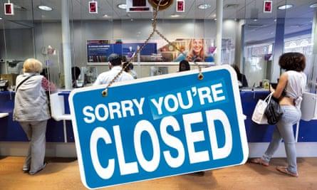Bank account closures