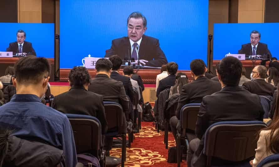 China's foreign minister, Wang Yi