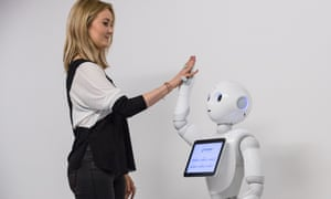 Humanoid Robot Pepper at the 'World of Me: Store of the Near Future', Millennial 20-20, London, Britain - 13 Apr 2016Mandatory Credit: Photo by James Gourley/REX/Shutterstock (5636177p) Pepper the robot Humanoid Robot Pepper at the 'World of Me: Store of the Near Future', Millennial 20-20, London, Britain - 13 Apr 2016