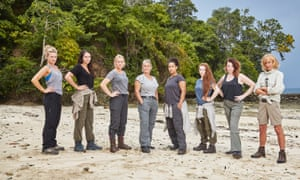 The female team on The Island.