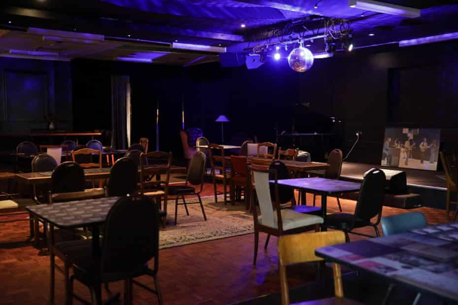The main lounge area in The Great Club, A community-focused live music venue in Marrickville.