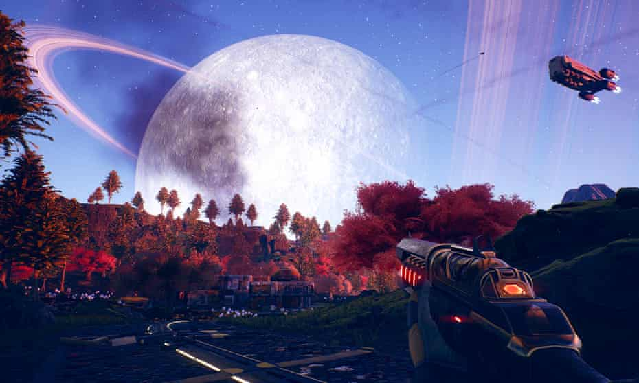 Cosy, inviting and curiously plausible … The Outer Worlds.
