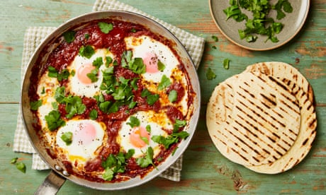 Thomasina Miers' quick recipe for Aztec baked eggs