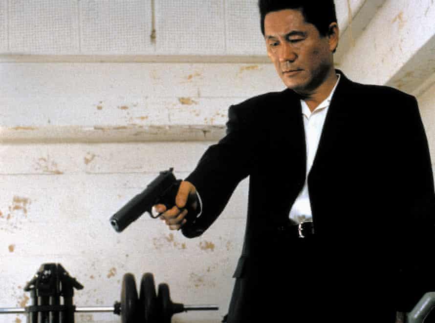 Takeshi Kitano in Brother.