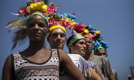 Cuba's LGBT community take part in a gay pride parade in Havana, Cuba