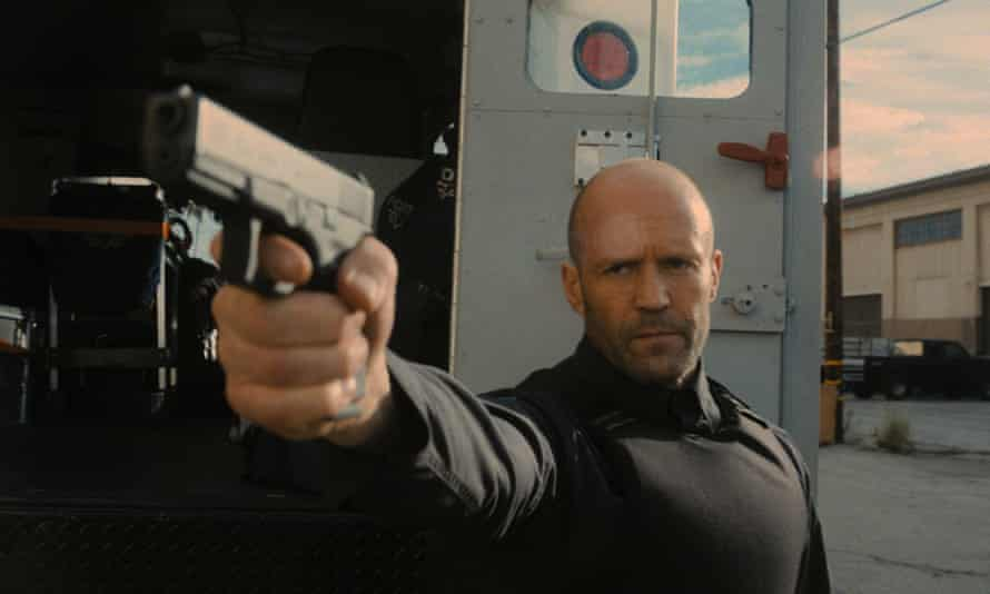 Jason Statham in Wrath of Man, a jolting return to form for Statham and Guy Ritchie.