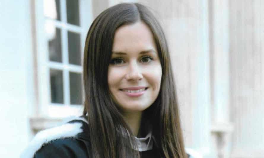 British-Australian university lecturer Dr Kylie Moore-Gilbert