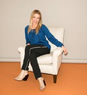 Jess Cartner-Morley in a boho blouse