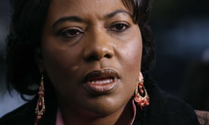 Dr Bernice King, daughter Martin Luther King Jr and Corretta Scott King, encouraged people not to use Donald Trump's name.