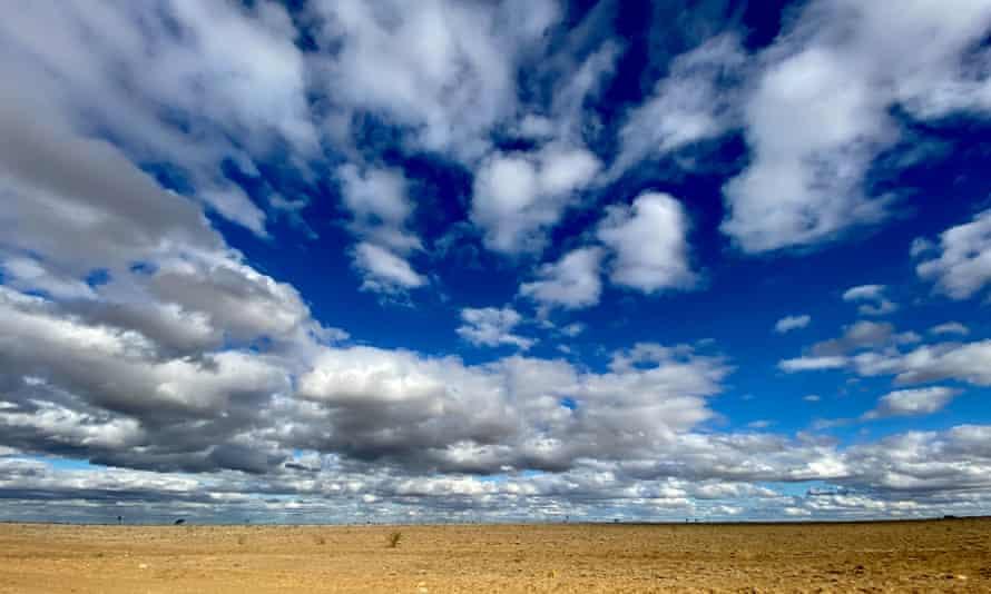 The 'big sky' of Muttaburra, Queensland