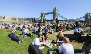 Lunch by Tower Bridge