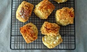 'Something with cheese' … Sweet potato sirenki.