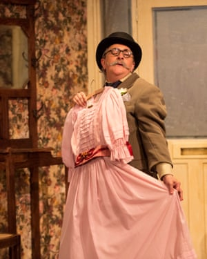 Jo Donnelly as Major Courtney in The Ladykillers