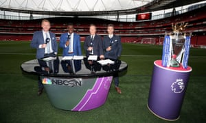 Arlo White, Robbie Earle, Lee Dixon and Kyle Martino