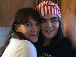 Nicola Clark with her daughter in 2015. 'I realise now that I'd always known that I was autistic.'