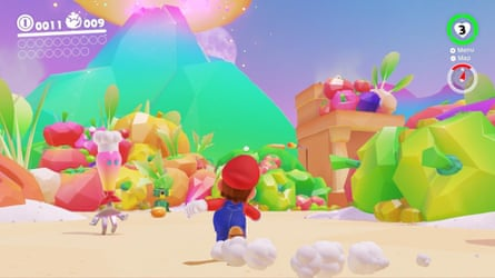 Full of colour and wonder … Super Mario Odyssey.