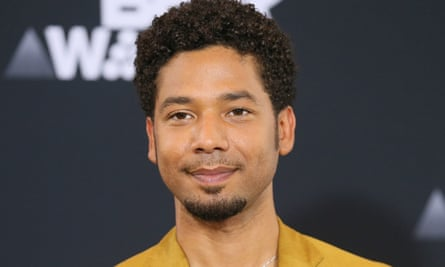 Jussie Smollett at the 2017 BET Awards in Los Angeles, California.
