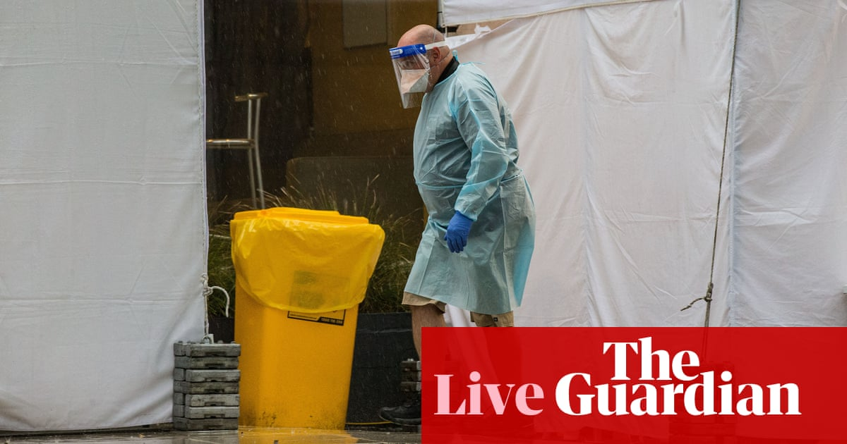 Australia Covid live news update: Victoria records 190 new cases as NSW hospitals brace for surge