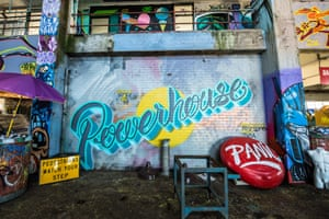 The Powerhouse Geelong is Australia's largest legal indoor space in which to create ephemeral street art