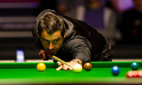 Ronnie O'Sullivan takes it to the max with 'hellhole' 147 break