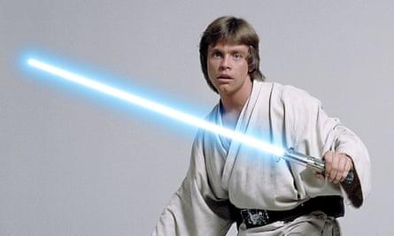Mark Hamill as Luke Skywalker in Star Wars: Episode IV – A New Hope.