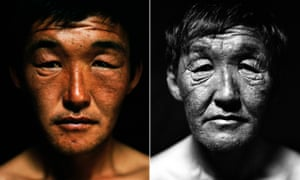 Two portraits of Altai, seventeen years apart.